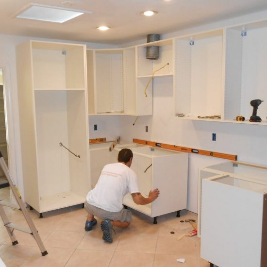 Kitchen cupboard installation cost