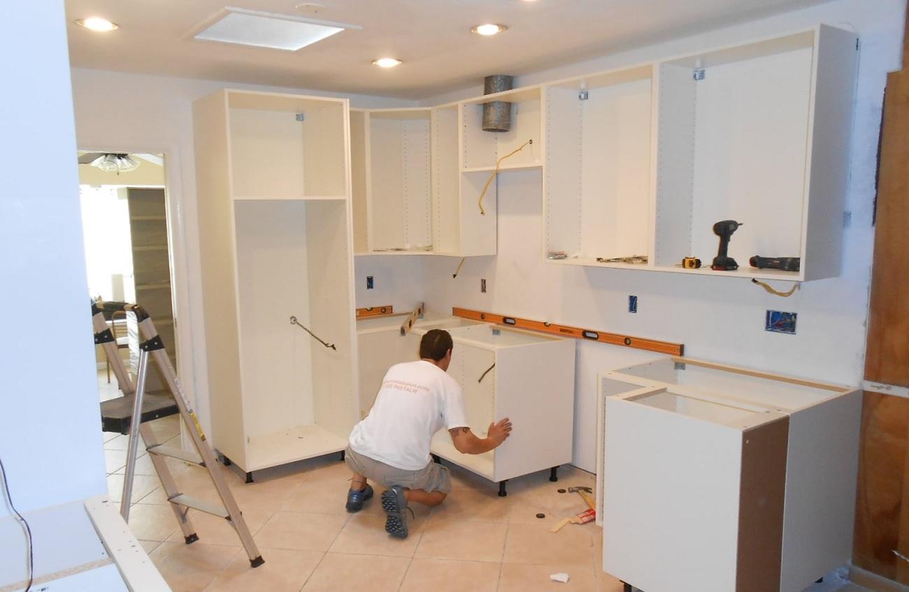 Kitchen cupboard installation cost